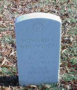 WHITWORTH (VETERAN 2 WARS), HOWARD L - Pulaski County, Arkansas | HOWARD L WHITWORTH (VETERAN 2 WARS) - Arkansas Gravestone Photos