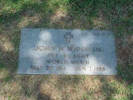 WIDEMAN (VETERAN WWII), JOHN H - Pulaski County, Arkansas | JOHN H WIDEMAN (VETERAN WWII) - Arkansas Gravestone Photos
