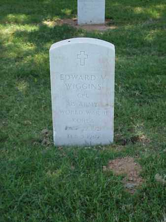 WIGGINS (VETERAN 2 WARS), EDWARD V - Pulaski County, Arkansas | EDWARD V WIGGINS (VETERAN 2 WARS) - Arkansas Gravestone Photos
