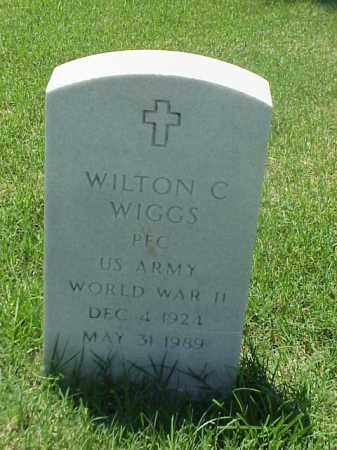 WIGGS (VETERAN WWII), WILTON C - Pulaski County, Arkansas | WILTON C WIGGS (VETERAN WWII) - Arkansas Gravestone Photos