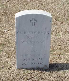 WILBANKS (VETERAN PGW), CHRISTOPHER RYAN - Pulaski County, Arkansas | CHRISTOPHER RYAN WILBANKS (VETERAN PGW) - Arkansas Gravestone Photos