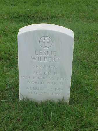 WILBERT (VETERAN WWII), LESLIE - Pulaski County, Arkansas | LESLIE WILBERT (VETERAN WWII) - Arkansas Gravestone Photos