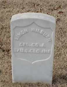WILBURN (VETERAN UNION), SIMON - Pulaski County, Arkansas | SIMON WILBURN (VETERAN UNION) - Arkansas Gravestone Photos