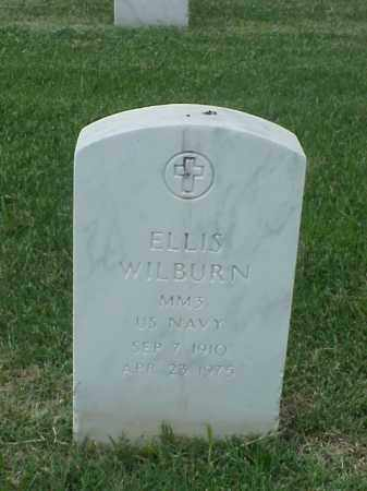 WILBURN (VETERAN WWII), ELLIS - Pulaski County, Arkansas | ELLIS WILBURN (VETERAN WWII) - Arkansas Gravestone Photos