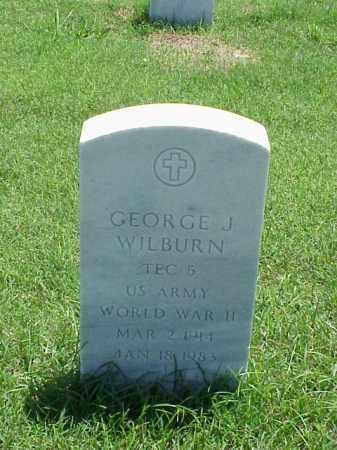 WILBURN (VETERAN WWII), GEORGE J - Pulaski County, Arkansas   GEORGE J WILBURN (VETERAN WWII) - Arkansas Gravestone Photos