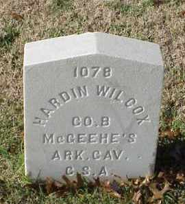 WILCOX (VETERAN CSA), HARDIN - Pulaski County, Arkansas   HARDIN WILCOX (VETERAN CSA) - Arkansas Gravestone Photos