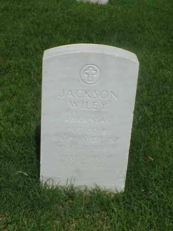 WILEY (VETERAN WWI), JACKSON - Pulaski County, Arkansas   JACKSON WILEY (VETERAN WWI) - Arkansas Gravestone Photos