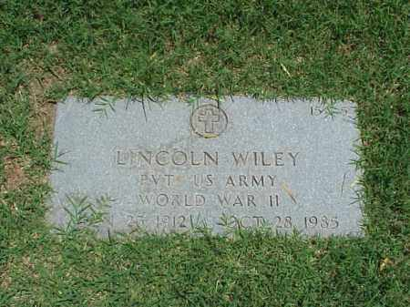 WILEY (VETERAN WWII), LINCOLN - Pulaski County, Arkansas | LINCOLN WILEY (VETERAN WWII) - Arkansas Gravestone Photos