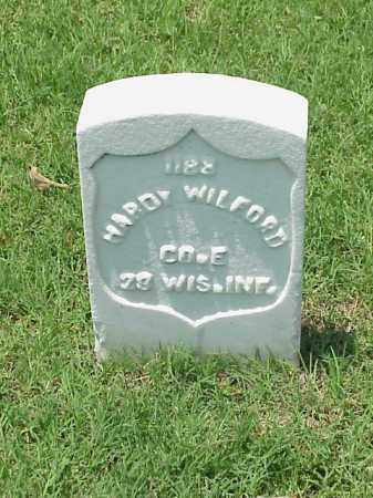 WILFORD (VETERAN UNION), HARDY - Pulaski County, Arkansas | HARDY WILFORD (VETERAN UNION) - Arkansas Gravestone Photos