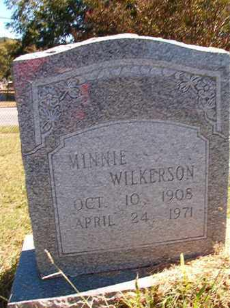 WILKERSON, MINNIE - Pulaski County, Arkansas | MINNIE WILKERSON - Arkansas Gravestone Photos