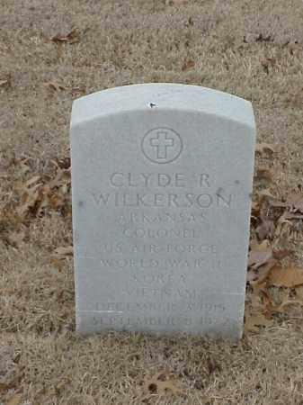 WILKERSON (VETERAN 3 WARS), CLYDE R - Pulaski County, Arkansas   CLYDE R WILKERSON (VETERAN 3 WARS) - Arkansas Gravestone Photos