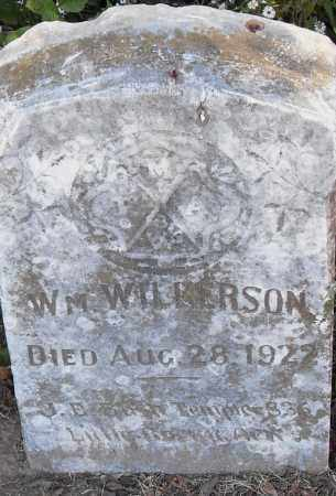 WILKERSON, WILLIAM - Pulaski County, Arkansas | WILLIAM WILKERSON - Arkansas Gravestone Photos