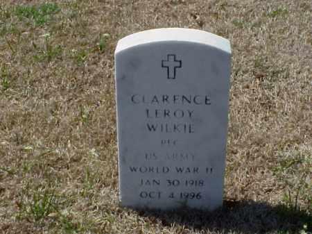 WILKIE (VETERAN WWII), CLARENCE LEROY - Pulaski County, Arkansas | CLARENCE LEROY WILKIE (VETERAN WWII) - Arkansas Gravestone Photos