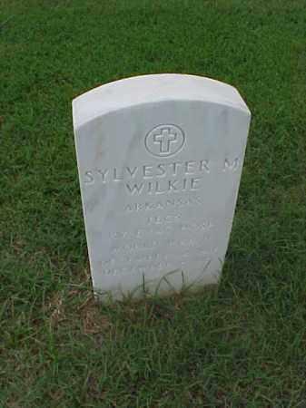 WILKIE (VETERAN WWII), SYLVESTER M - Pulaski County, Arkansas | SYLVESTER M WILKIE (VETERAN WWII) - Arkansas Gravestone Photos