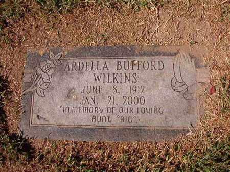 BUFFORD WILKINS, ARDELLA - Pulaski County, Arkansas | ARDELLA BUFFORD WILKINS - Arkansas Gravestone Photos