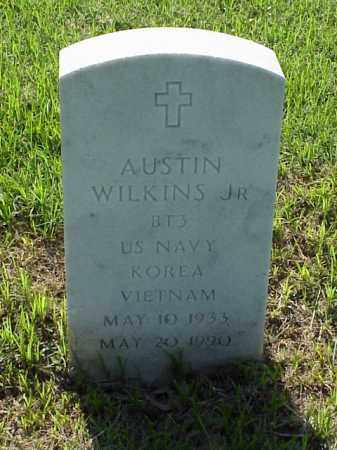 WILKINS, JR (VETERAN 2 WARS), AUSTIN - Pulaski County, Arkansas | AUSTIN WILKINS, JR (VETERAN 2 WARS) - Arkansas Gravestone Photos
