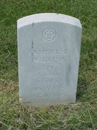 WILKINS (VETERAN KOR), SAMUEL R - Pulaski County, Arkansas | SAMUEL R WILKINS (VETERAN KOR) - Arkansas Gravestone Photos