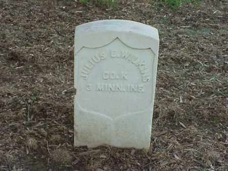 WILKINS (VETERAN UNION), JULIUS E - Pulaski County, Arkansas | JULIUS E WILKINS (VETERAN UNION) - Arkansas Gravestone Photos