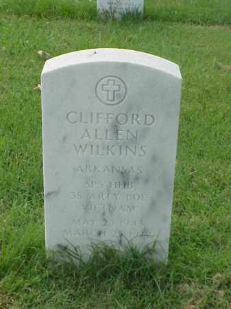WILKINS (VETERAN VIET), CLIFFORD ALLEN - Pulaski County, Arkansas | CLIFFORD ALLEN WILKINS (VETERAN VIET) - Arkansas Gravestone Photos