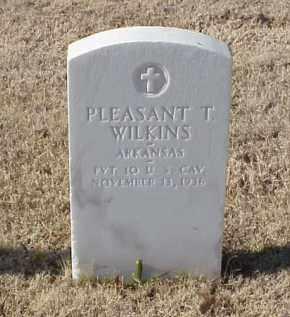 WILKINS (VETERAN WWI), PLEASANT T - Pulaski County, Arkansas | PLEASANT T WILKINS (VETERAN WWI) - Arkansas Gravestone Photos