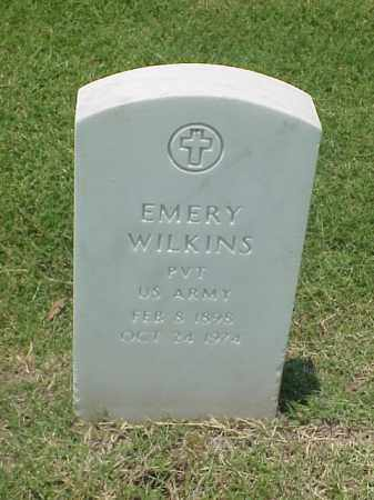 WILKINS (VETERAN WWII), EMERY - Pulaski County, Arkansas | EMERY WILKINS (VETERAN WWII) - Arkansas Gravestone Photos