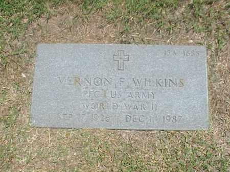 WILKINS (VETERAN WWII), VERNON F - Pulaski County, Arkansas | VERNON F WILKINS (VETERAN WWII) - Arkansas Gravestone Photos
