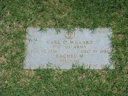 WILLARD (VETERAN WWII), CARL O - Pulaski County, Arkansas   CARL O WILLARD (VETERAN WWII) - Arkansas Gravestone Photos