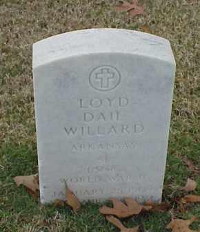 WILLARD (VETERAN WWII), LOYD DAIL - Pulaski County, Arkansas   LOYD DAIL WILLARD (VETERAN WWII) - Arkansas Gravestone Photos