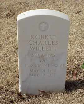 WILLETT (VETERAN), ROBERT CHARLES - Pulaski County, Arkansas | ROBERT CHARLES WILLETT (VETERAN) - Arkansas Gravestone Photos