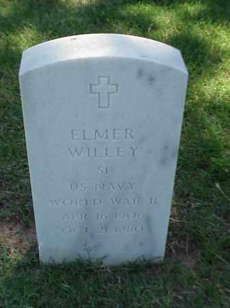 WILLEY (VETERAN WWII), ELMER - Pulaski County, Arkansas | ELMER WILLEY (VETERAN WWII) - Arkansas Gravestone Photos