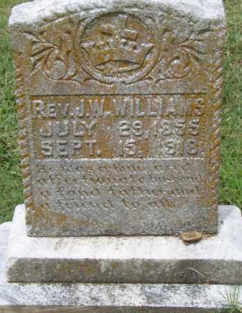 WILLIAMS,  REV., J. W. - Pulaski County, Arkansas | J. W. WILLIAMS,  REV. - Arkansas Gravestone Photos