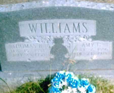 WILLIAMS, THOMAS B. - Pulaski County, Arkansas | THOMAS B. WILLIAMS - Arkansas Gravestone Photos