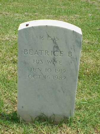 WILLIAMS, BEATRICE B - Pulaski County, Arkansas | BEATRICE B WILLIAMS - Arkansas Gravestone Photos