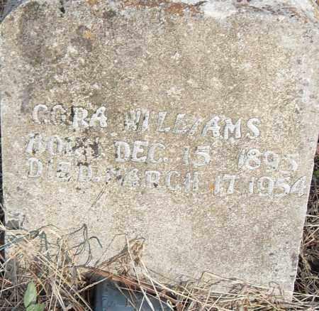WILLIAMS, CORA - Pulaski County, Arkansas | CORA WILLIAMS - Arkansas Gravestone Photos