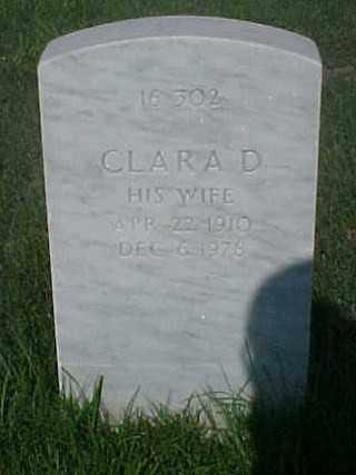 WILLIAMS, CLARA D - Pulaski County, Arkansas | CLARA D WILLIAMS - Arkansas Gravestone Photos