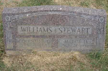 WILLIAMS, COLENTINE G. - Pulaski County, Arkansas | COLENTINE G. WILLIAMS - Arkansas Gravestone Photos