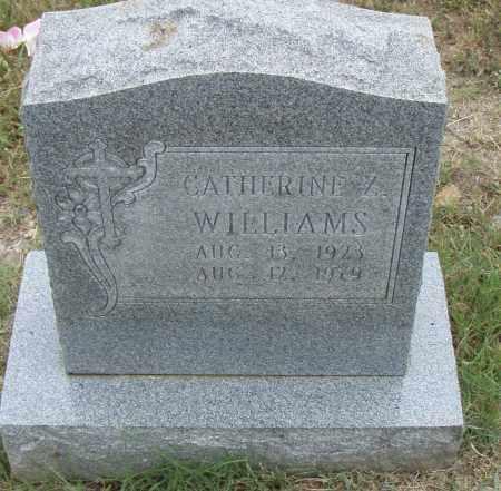 WILLIAMS, CATHERINE Z. - Pulaski County, Arkansas   CATHERINE Z. WILLIAMS - Arkansas Gravestone Photos