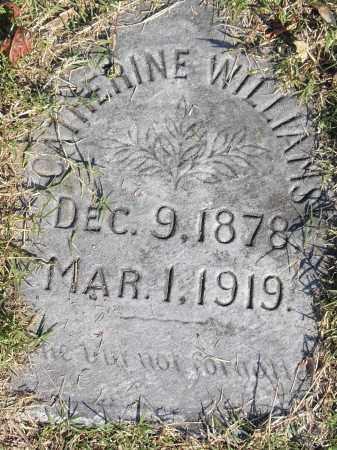 WILLIAMS, CATHERINE - Pulaski County, Arkansas   CATHERINE WILLIAMS - Arkansas Gravestone Photos