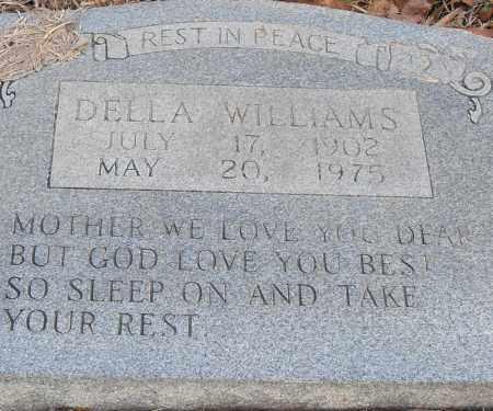 WILLIAMS, DELLA - Pulaski County, Arkansas | DELLA WILLIAMS - Arkansas Gravestone Photos