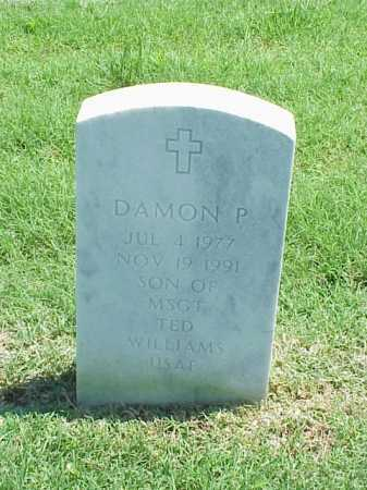 WILLIAMS, DAMON P - Pulaski County, Arkansas | DAMON P WILLIAMS - Arkansas Gravestone Photos