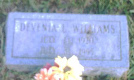 WILLIAMS, DEVENIA L. - Pulaski County, Arkansas | DEVENIA L. WILLIAMS - Arkansas Gravestone Photos