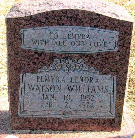 WILLIAMS, ELMYRA LENORA - Pulaski County, Arkansas | ELMYRA LENORA WILLIAMS - Arkansas Gravestone Photos
