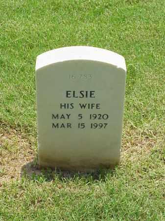 WILLIAMS, ELSIE - Pulaski County, Arkansas   ELSIE WILLIAMS - Arkansas Gravestone Photos