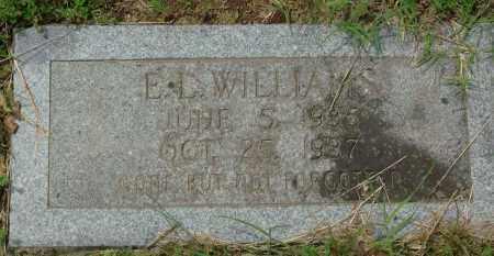 WILLIAMS, E. L. - Pulaski County, Arkansas | E. L. WILLIAMS - Arkansas Gravestone Photos