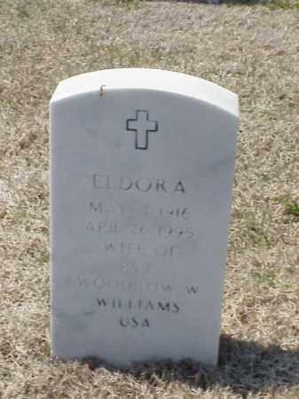 WILLIAMS, ELDORA - Pulaski County, Arkansas | ELDORA WILLIAMS - Arkansas Gravestone Photos