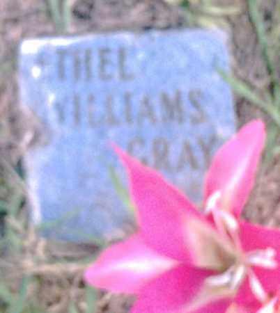 GRAY, ETHEL WILLIAMS - Pulaski County, Arkansas | ETHEL WILLIAMS GRAY - Arkansas Gravestone Photos