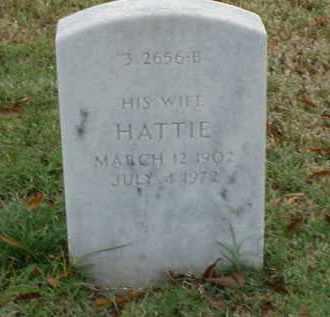 WILLIAMS, HATTIE - Pulaski County, Arkansas | HATTIE WILLIAMS - Arkansas Gravestone Photos