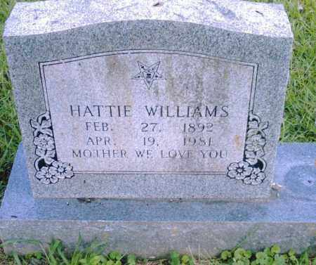 WILLIAMS, HATTIE - Pulaski County, Arkansas | HATTIE WILLIAMS - Arkansas Gravestone Photos