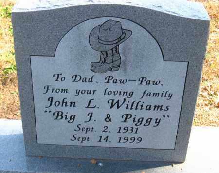 WILLIAMS, JOHN L. - Pulaski County, Arkansas | JOHN L. WILLIAMS - Arkansas Gravestone Photos