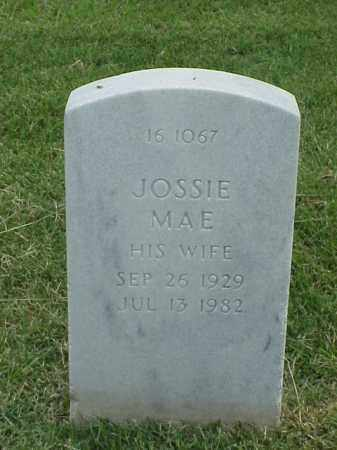 WILLIAMS, JOSSIE MAE - Pulaski County, Arkansas   JOSSIE MAE WILLIAMS - Arkansas Gravestone Photos